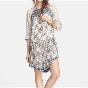 Free People Elsie Embroidered Dress